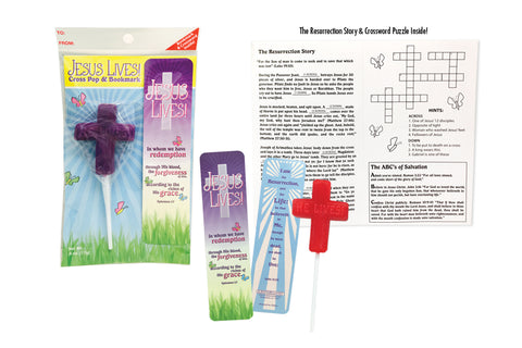 Cross Pop Bookmark Set