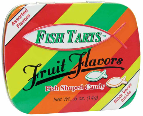 Fish Tarts Pocket Tin
