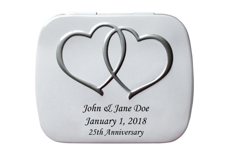 Personalized Wedding Tins