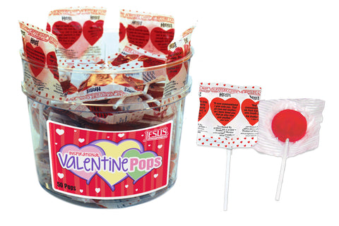 Valentine Pops Bucket