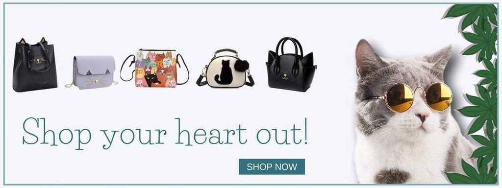 Cat Themed Bags And Purses | NineLivesCats