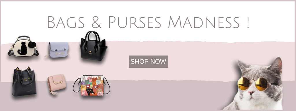 Cat Bags & purses | Free Worldwide Shipping 60 days returns