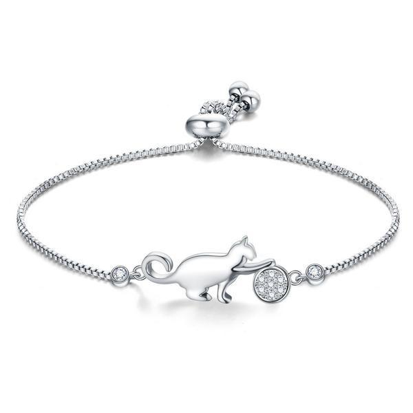 Cat Play Ball Lovely Adjustable Bracelet