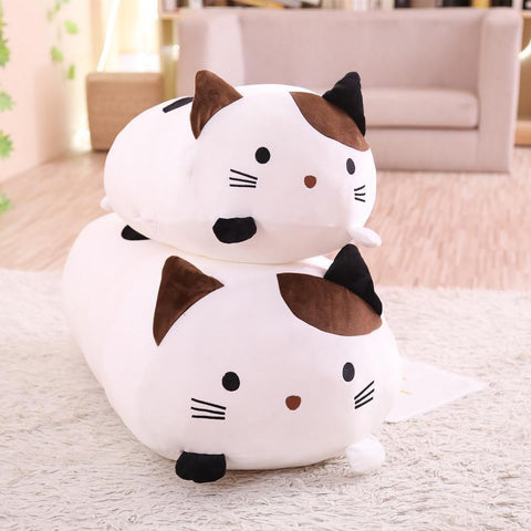 Big Soft  Cat Stuffed Plush Pillows