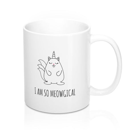 Meowgical Coffee Mug