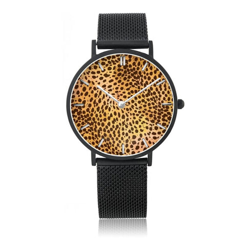 Classic Leopard Watch | NineLivesCats