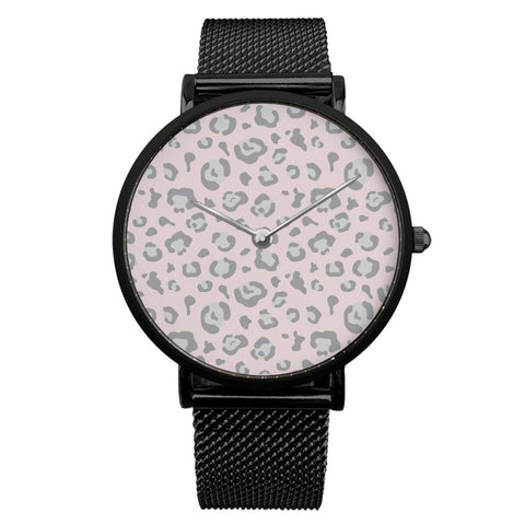 Pink Leopard Watch