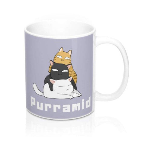 Purramid Gift Coffee Mug | NineLivesCats