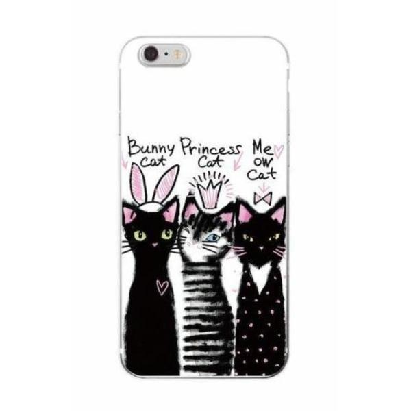 Bunny Cat & Friends iPhone Case