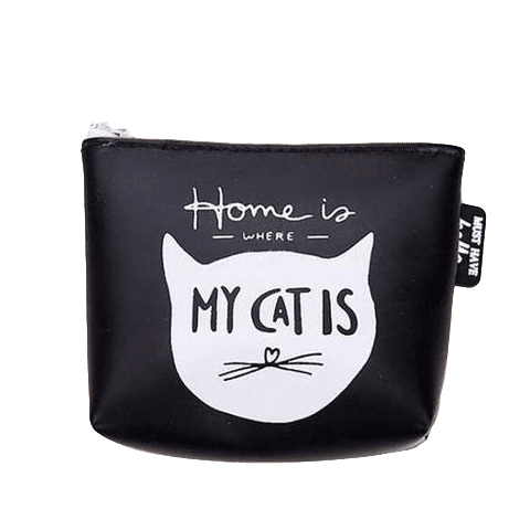 Home Is Where My Cat Is Coin Purse