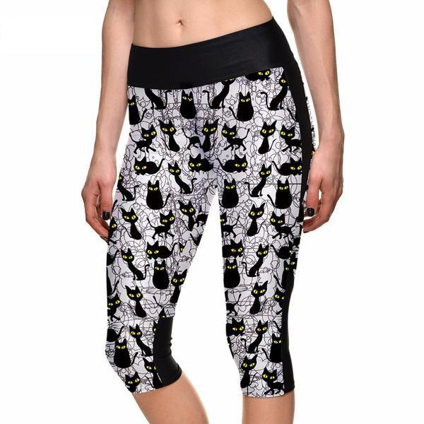 Cartoon cat pants