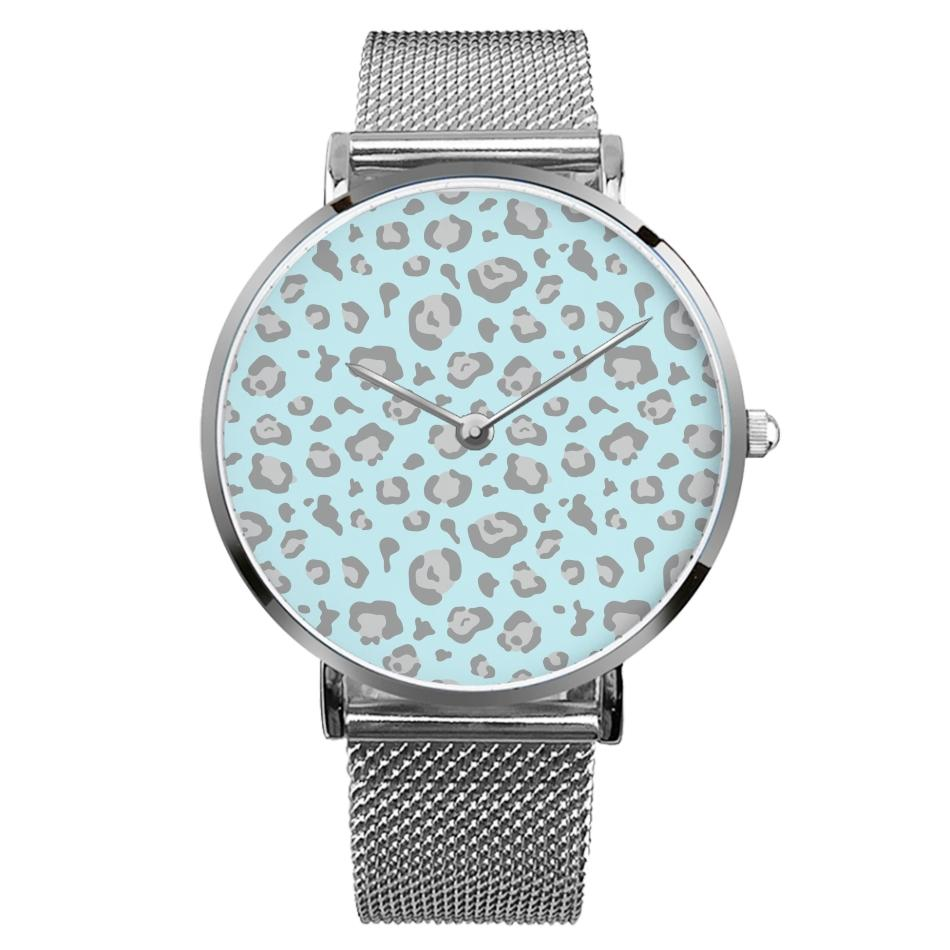 Aqua Leopard Watch