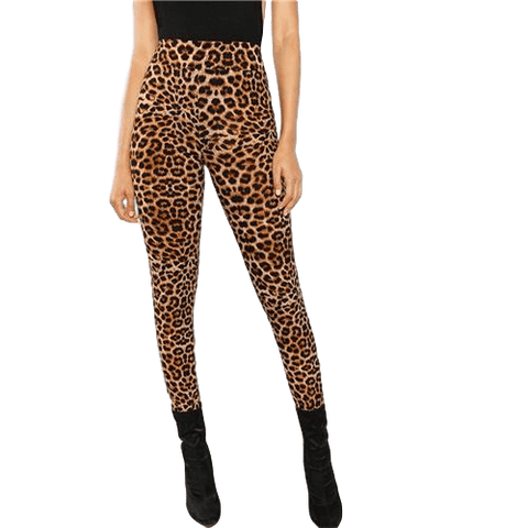 Leopard Print Long Leggings