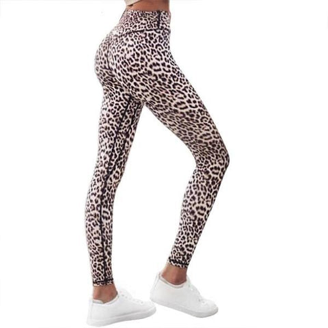 High Waist Leopard Leggings