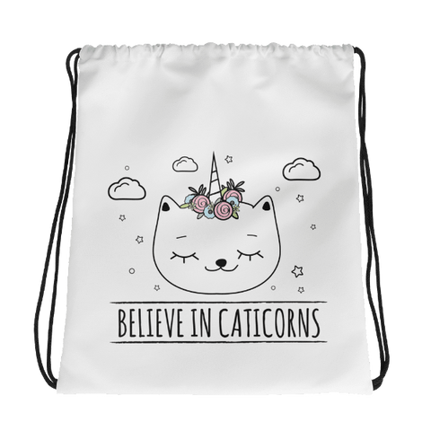 Caticorn Drawstring bag