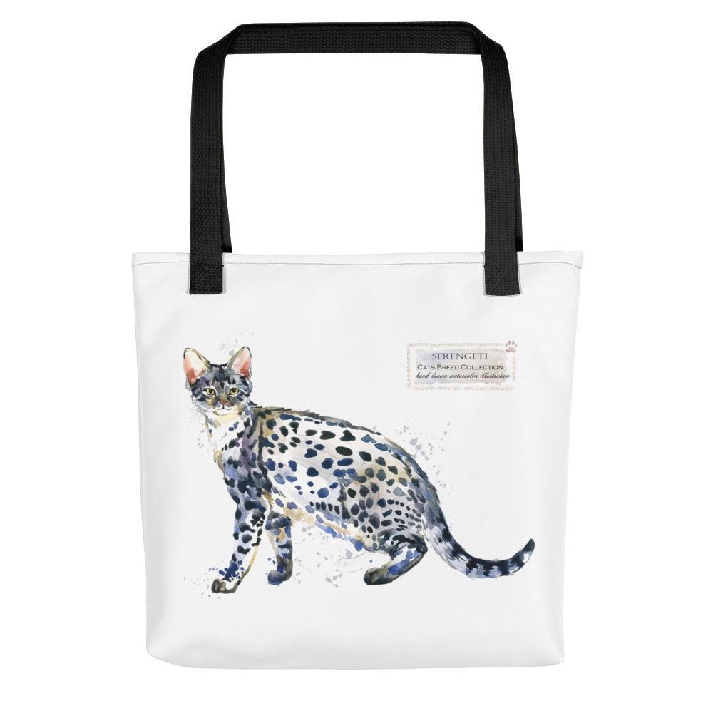 Serengeti Cats Breed Tote bag