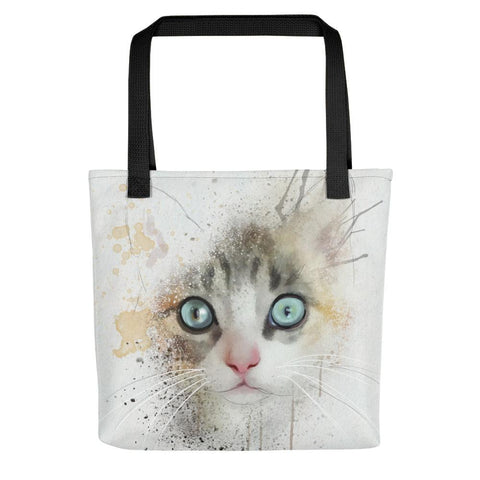Watercolor Cat Tote bag - Luna