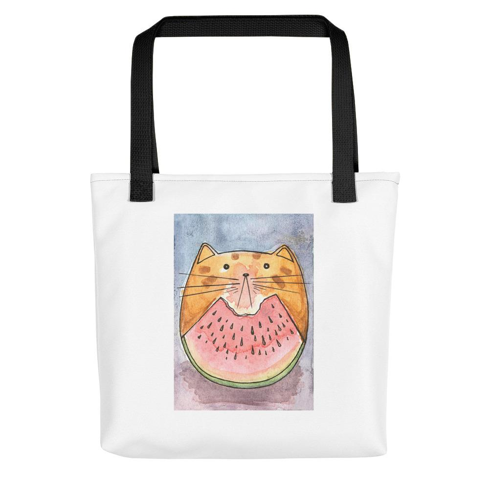 Watermeow Cat Tote bag
