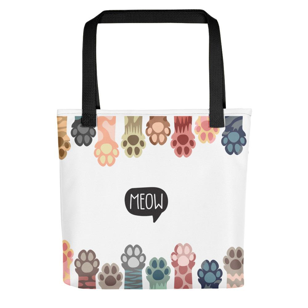 Meow Paws Tote bag | NineLivesCats