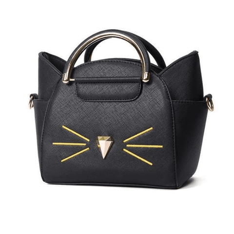 Cat Mustache Purse | NineLivesCats