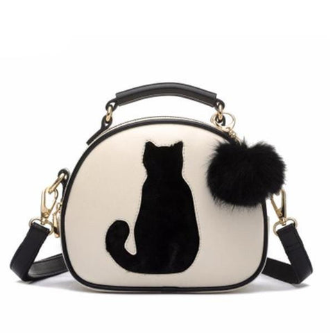 Pom Pom Cat Bag | NineLivesCats