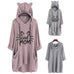 Cat Mom Oversize Hoodie With Cat Ears