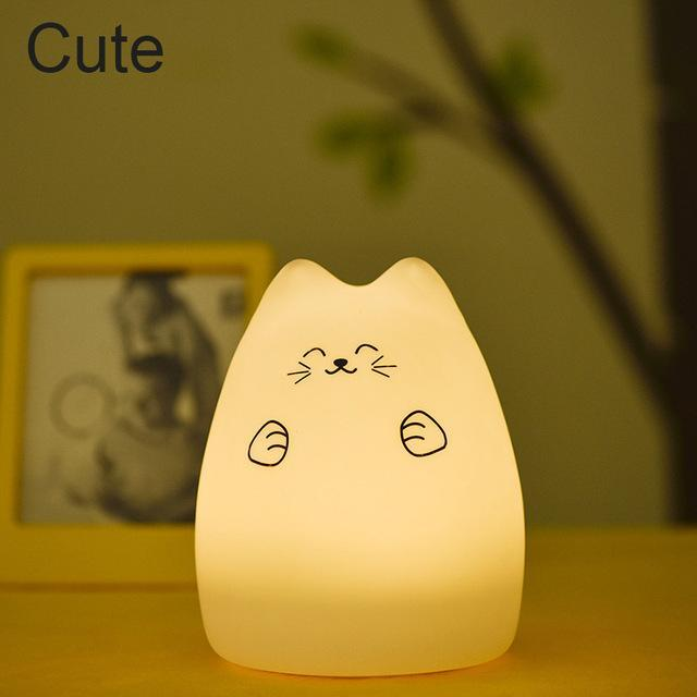 Colorful Silicone LED Night Light