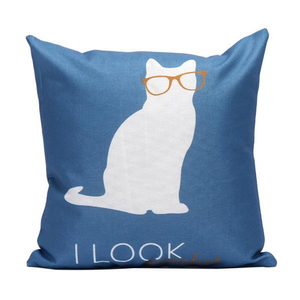 I Look Cat Pillow Case | NineLivesCats