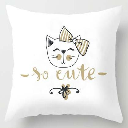 Nordic Cat Pillow Cases | NineLivesCats
