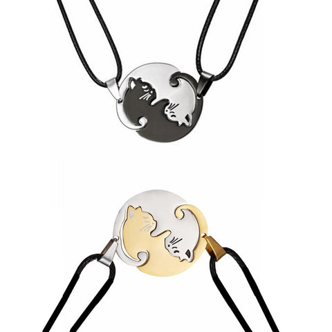 Yin Yang Cat Necklace | NineLivesCats