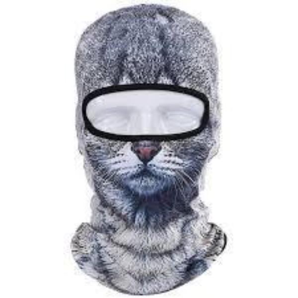 Cat Face Outdoor Mask