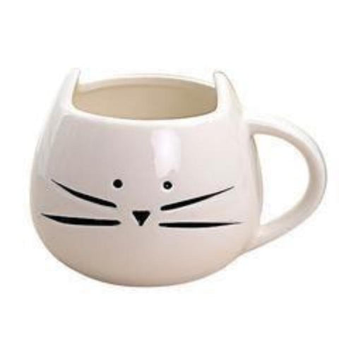Ceramic Cat Coffee Mug | NineLivesCats
