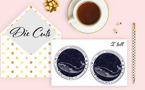 Whale Die Cuts Set