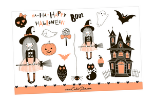 Stickers Halloween Boo