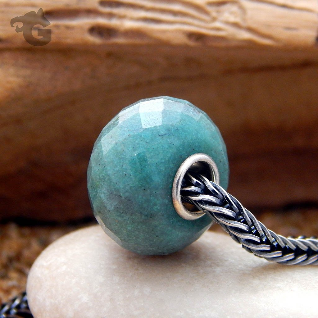 African Turquoise Gemstone Bead