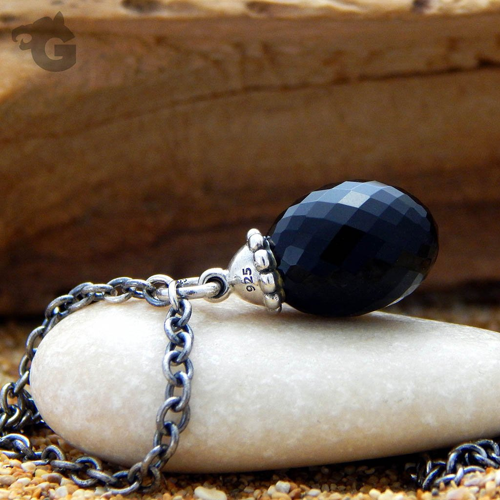 Black Onyx Necklace lockless