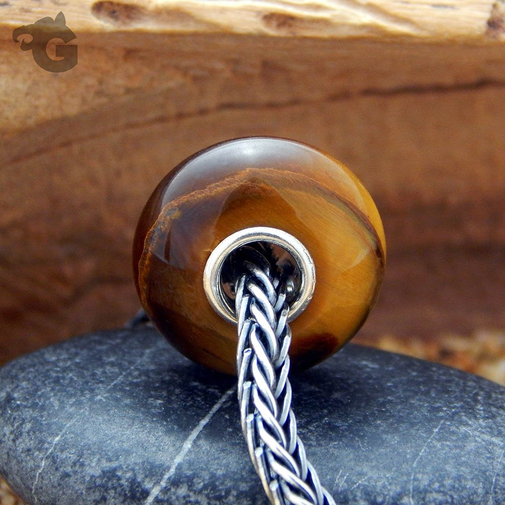Tiger Eye bead smooth