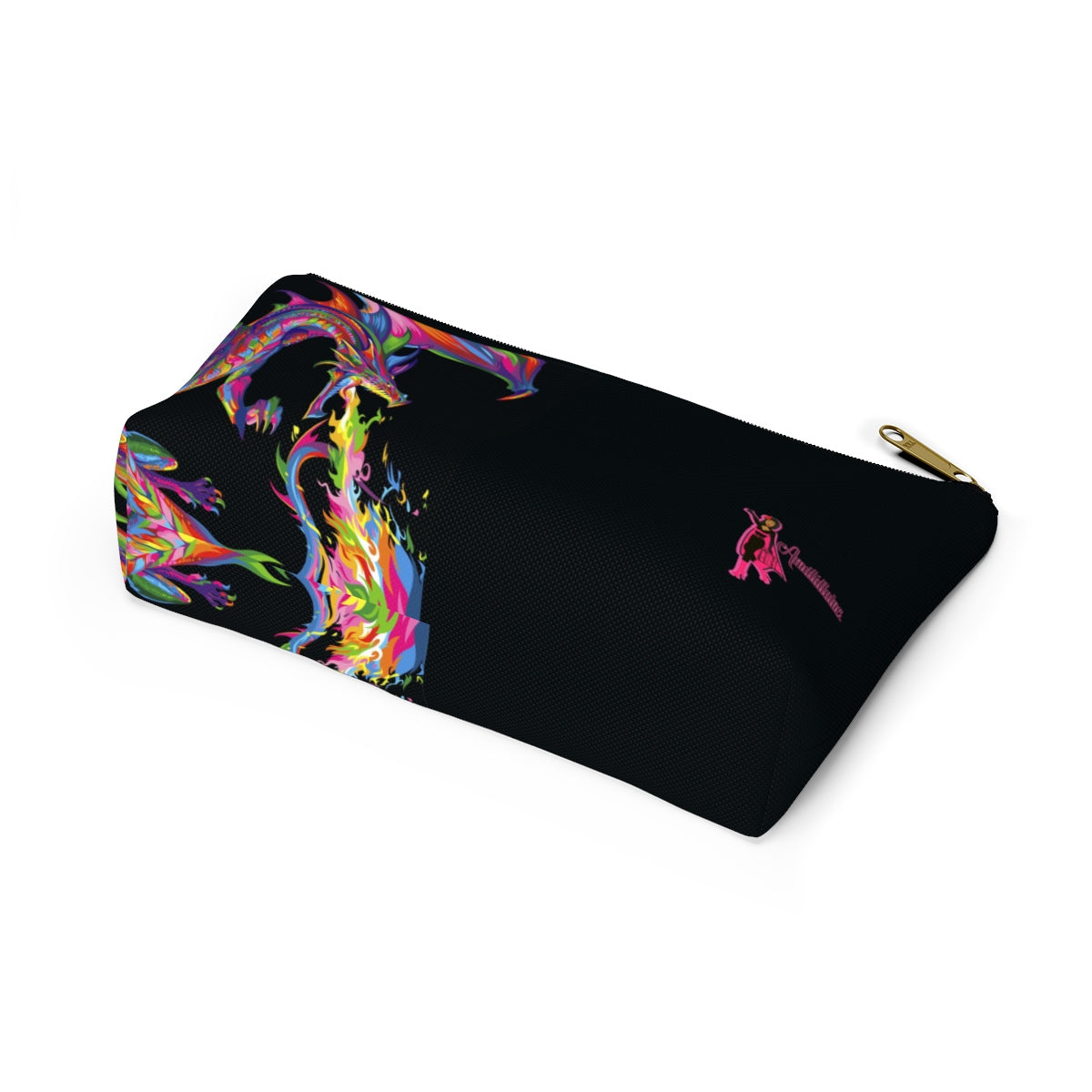 Amatullainc. Fantasy Accessory Pouches are custom-made-to-order and handcrafted to the highest quality standards. Our t-bottom pouches vary from small to large and can be used for pretty much anything. They make excellent pencil cases and cosmetic travel bags.