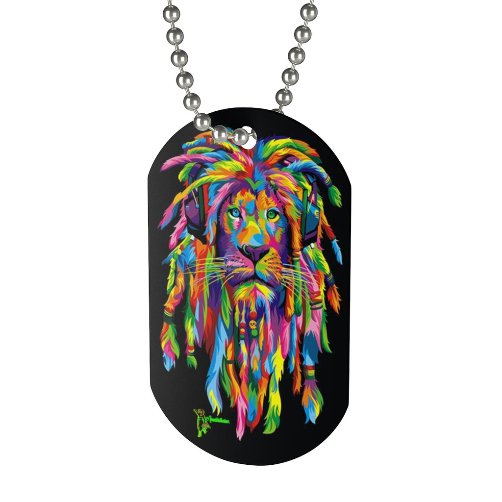 One Size Height , in 1.96 Width, in 1.18 Chain length, in 15 These dog tags are professionally printed in full digital color.