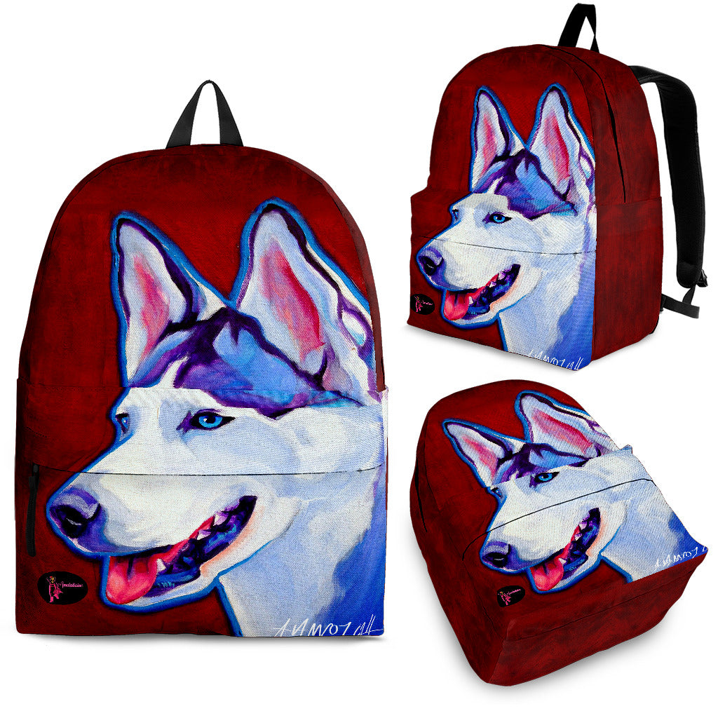 Siberian Husky Backpack