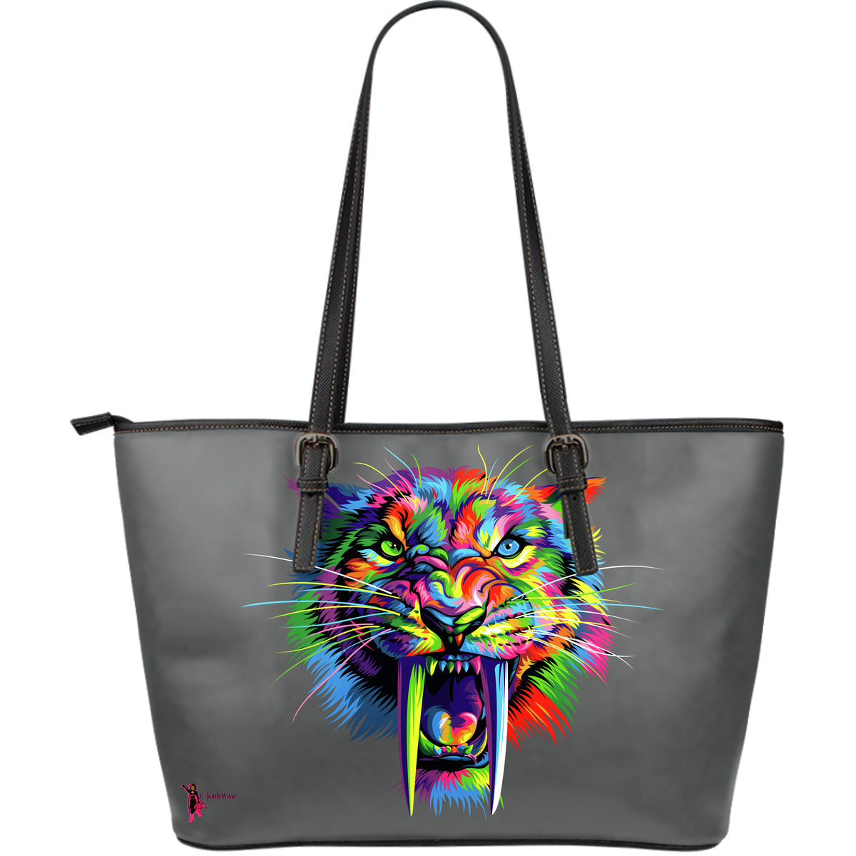 Sabertooth Leather Tote Bag