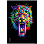 Amatullainc. Sabertooth Posters are versatile, beautiful and elegant posters with a rectangular shape which delivers sharp, clean, glossy finish images with stunning color and vibrancy. Production time 3-4 business days while your order is hand-crafted, boxed packaged and shipped from our facility.