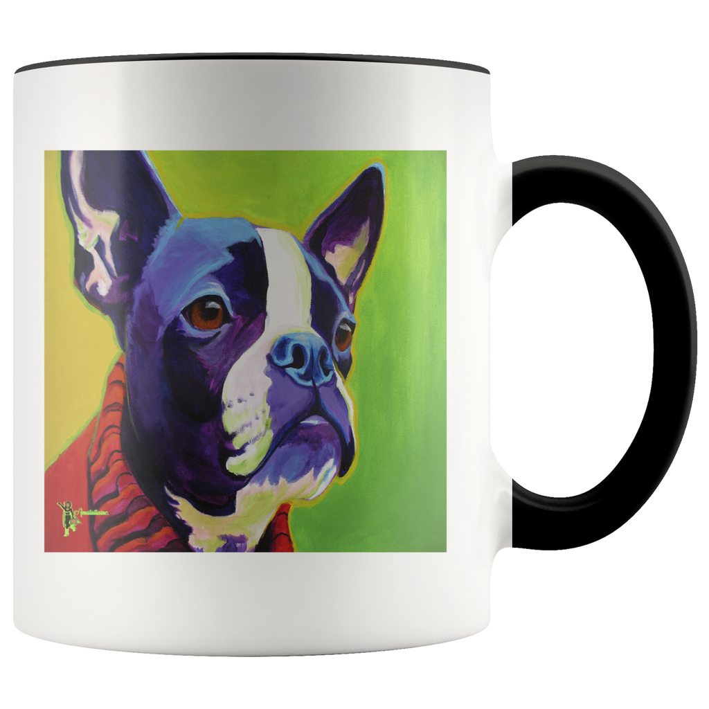 Amatullainc. Ridley Dog Mug GIVE AWAY is a high-quality 11oz. Ceramic white accent mug has a premium hard coat that provides crisp and vibrant color reproduction sure to last for years. Perfect for all hot & cold beverages which have a High Gloss + Premium White Finish with ORCA Coating Dishwasher and Microwave Safe.