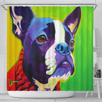 Ridley Dog Shower Curtain