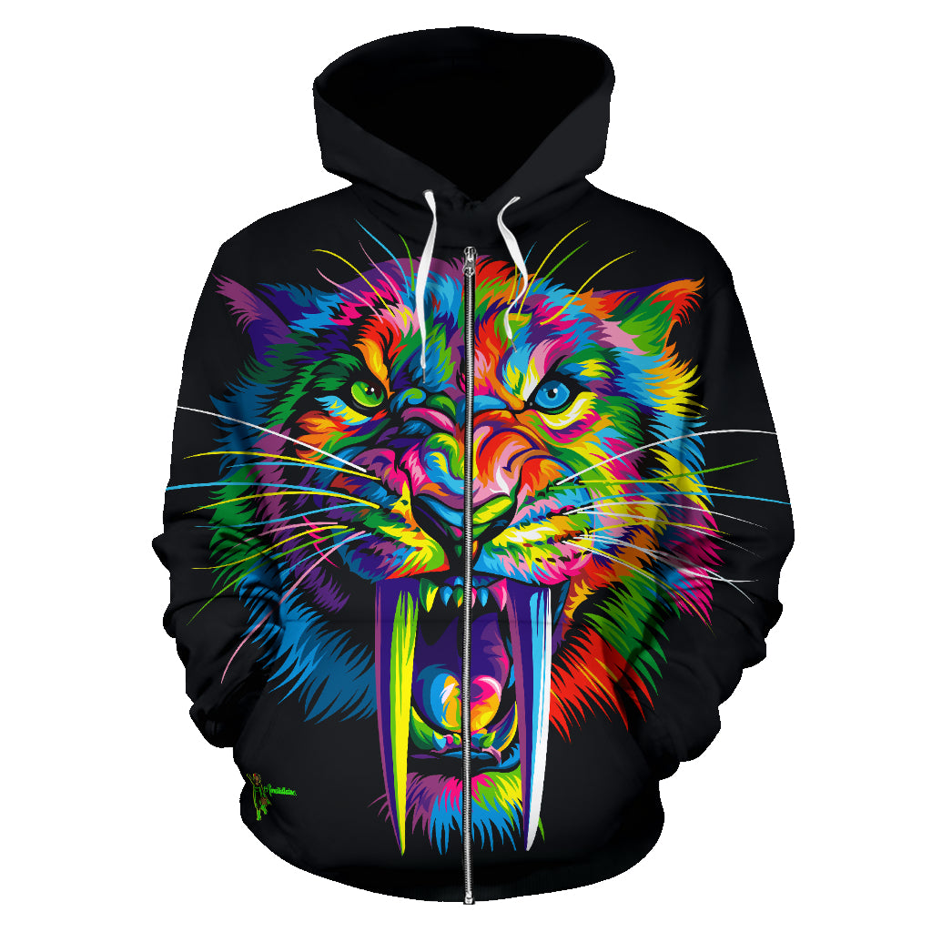 Sabertooth All Over Hoodie