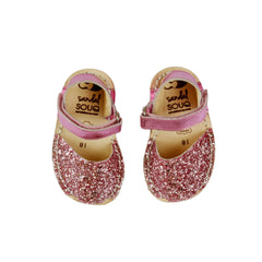 Candy Glitter Mibo Avarca Sandals for Babies