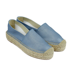 Denim Canvas Espadrille الدنيم