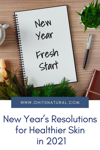 2021 new year resolutions for skin