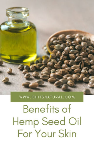 the benefits of hemp seed oil for skin