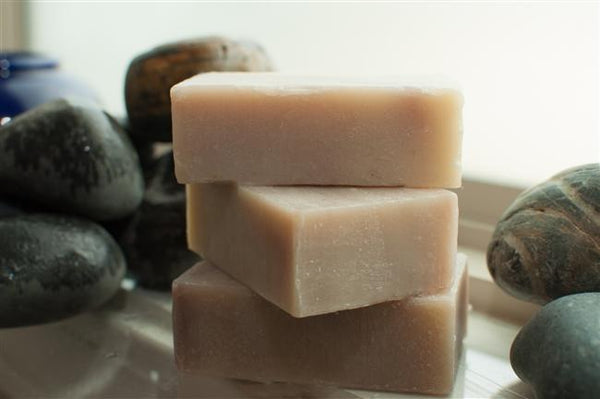 all natural hemp soap bar handmade with patchouli essential oil